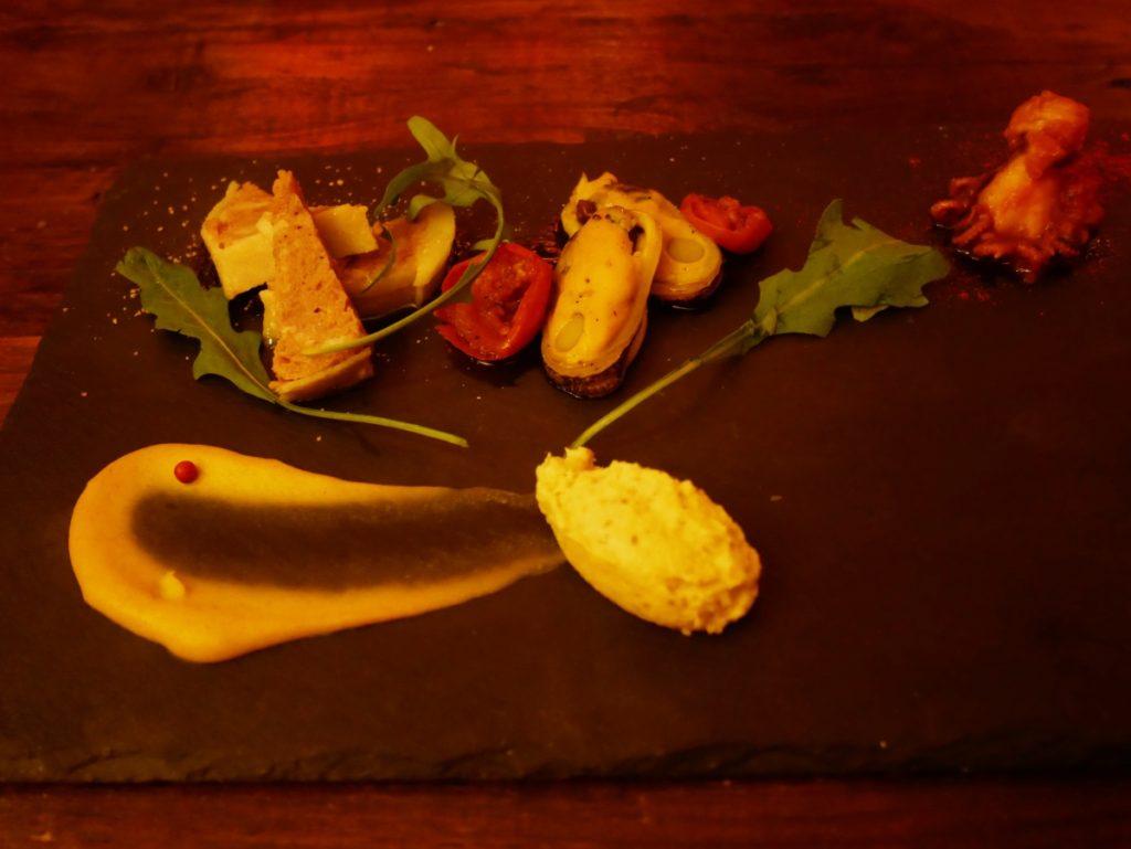 恵比寿・アニマリベラ 小さな前菜盛り合せ