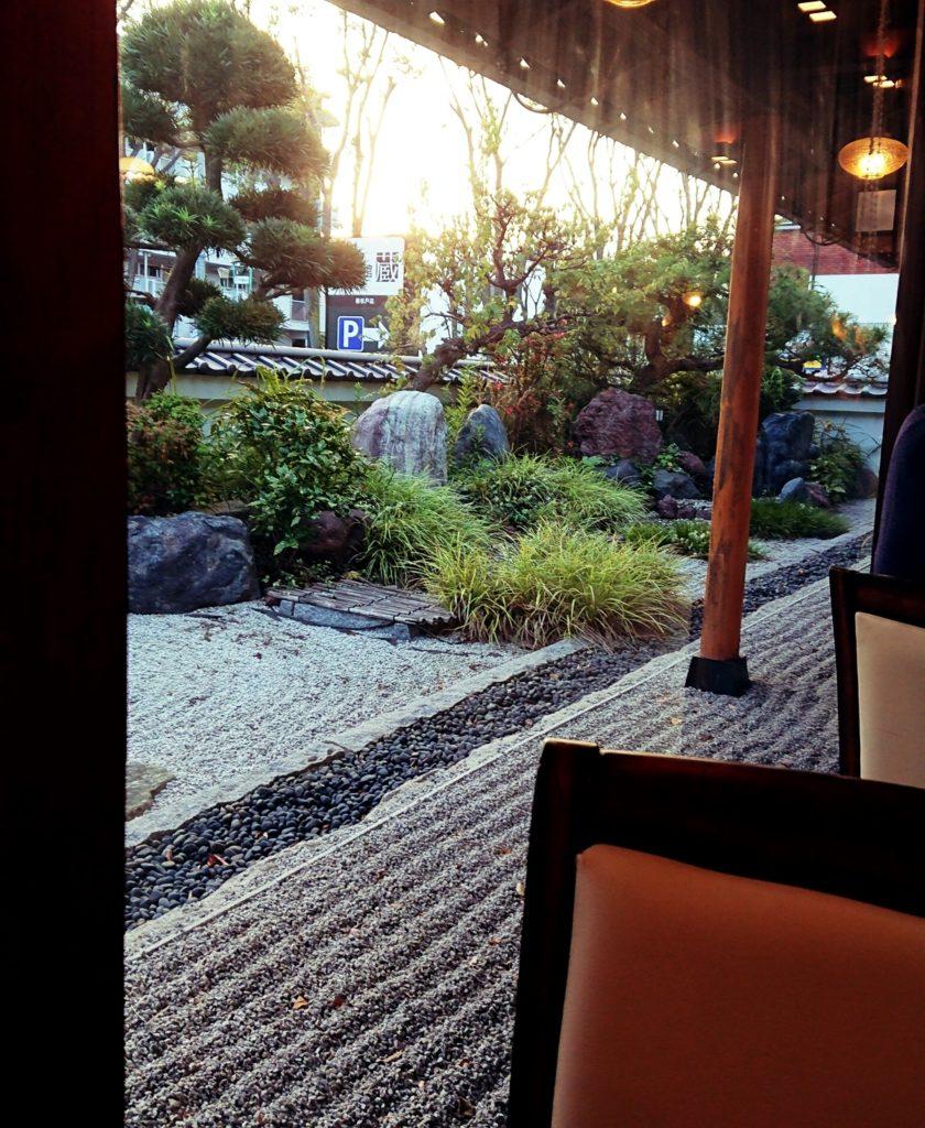 珈琲館 蔵 新松戸店 庭