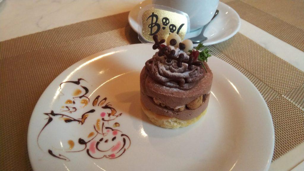 ハロウィン限定のチョコモンブラン440円(税込)