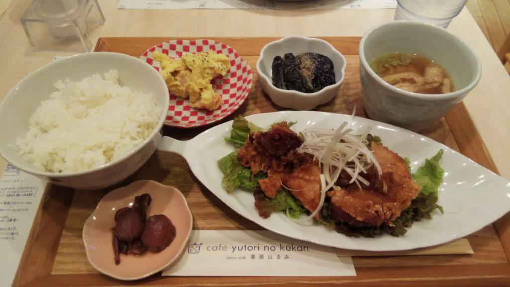 揚げ鶏のねぎソース(1375円)