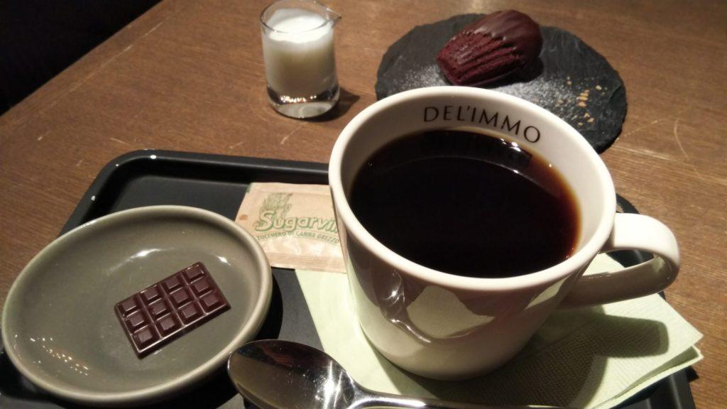 ブレンドコーヒー(580円+税)