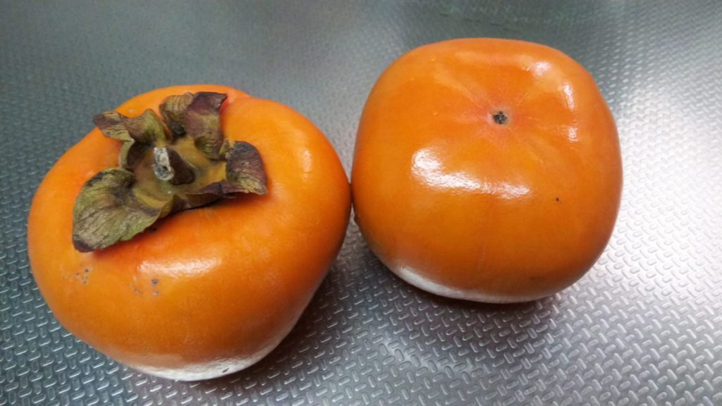 旬のフルーツ柿