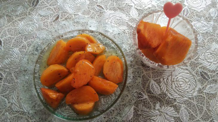 柿のマリネ