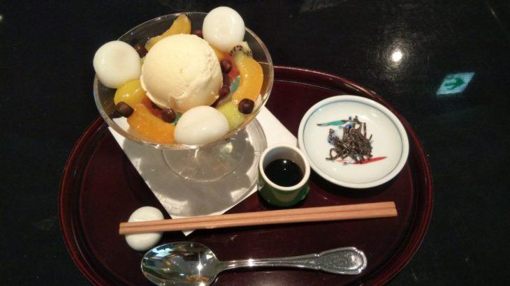 【一度は食べてほしい】KATO'S DINING&BARの究極のクリームあんみつ【ホテルニューオータニ東京】