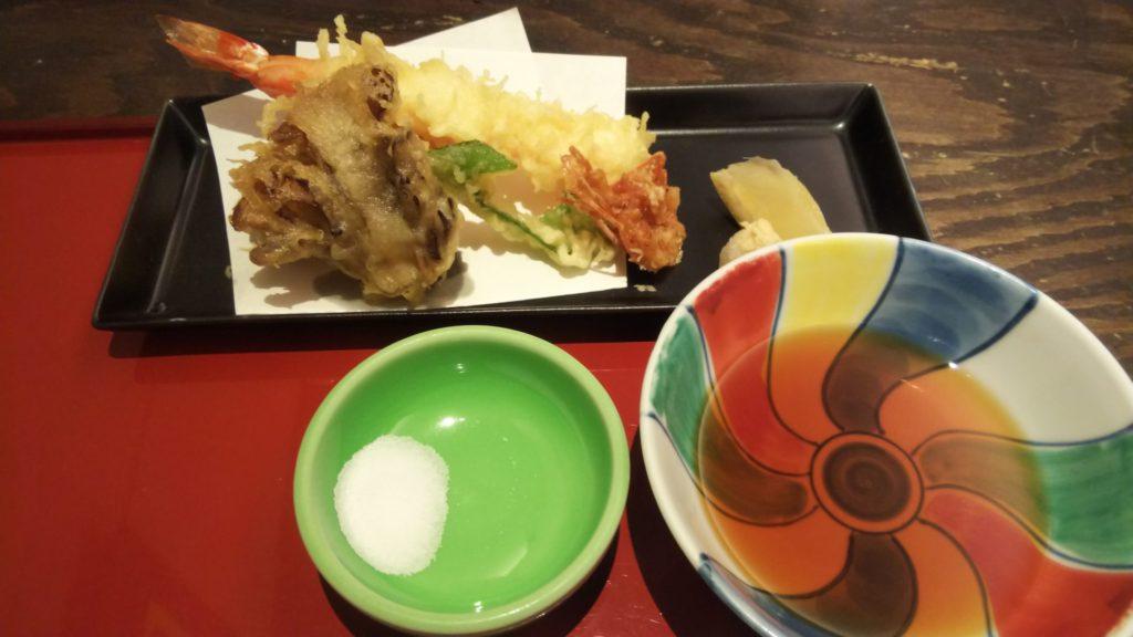 麺処NAKAJIMAの天ぷら
