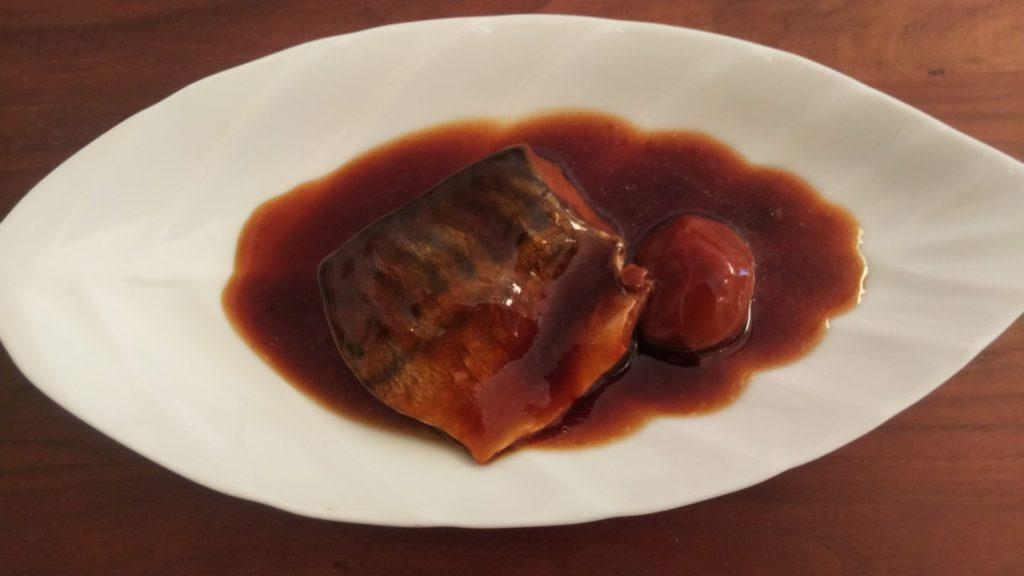 松乃江|南高梅とさばの煮つけ