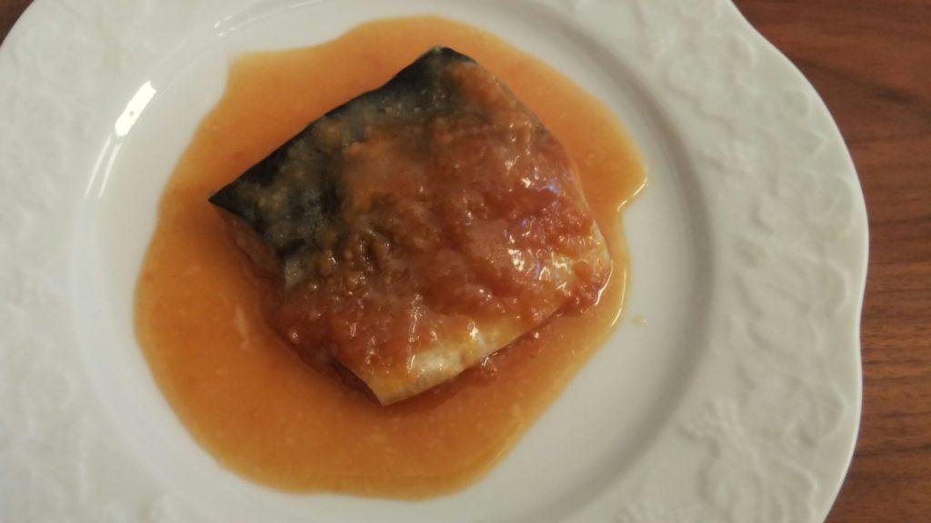 松乃江|骨取さば味噌煮