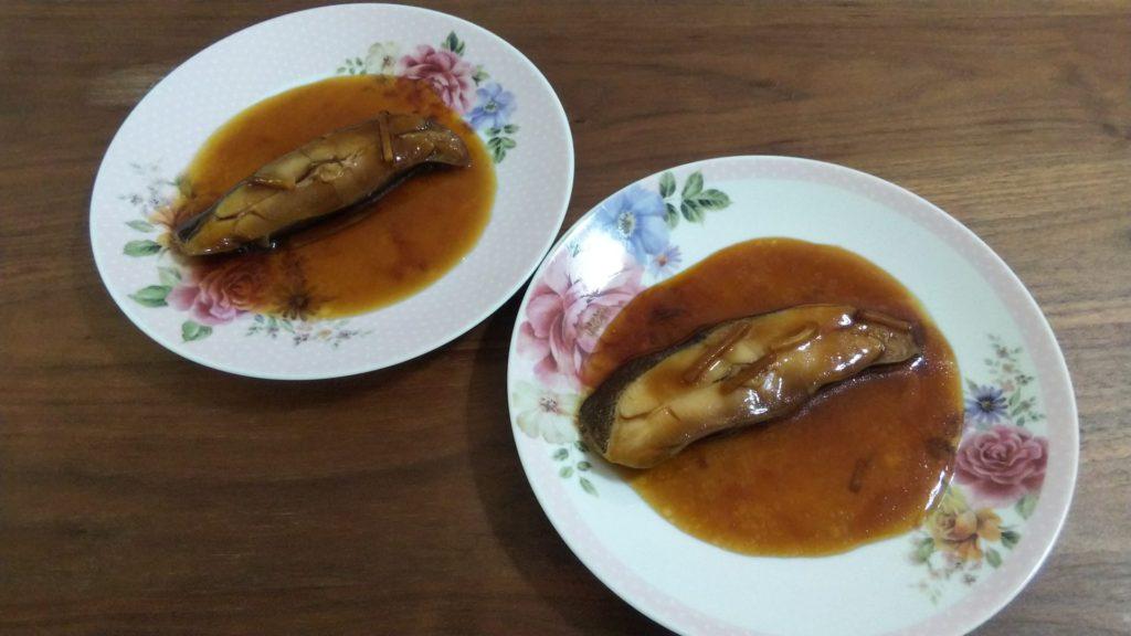 松乃江|かれい醤油煮
