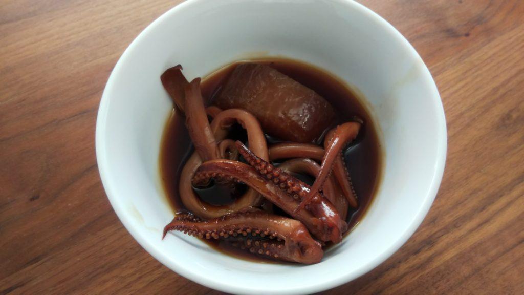 松乃江|真いかと大根の煮つけ
